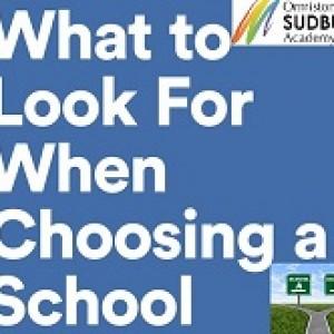 2015-09-15 Choosing a school